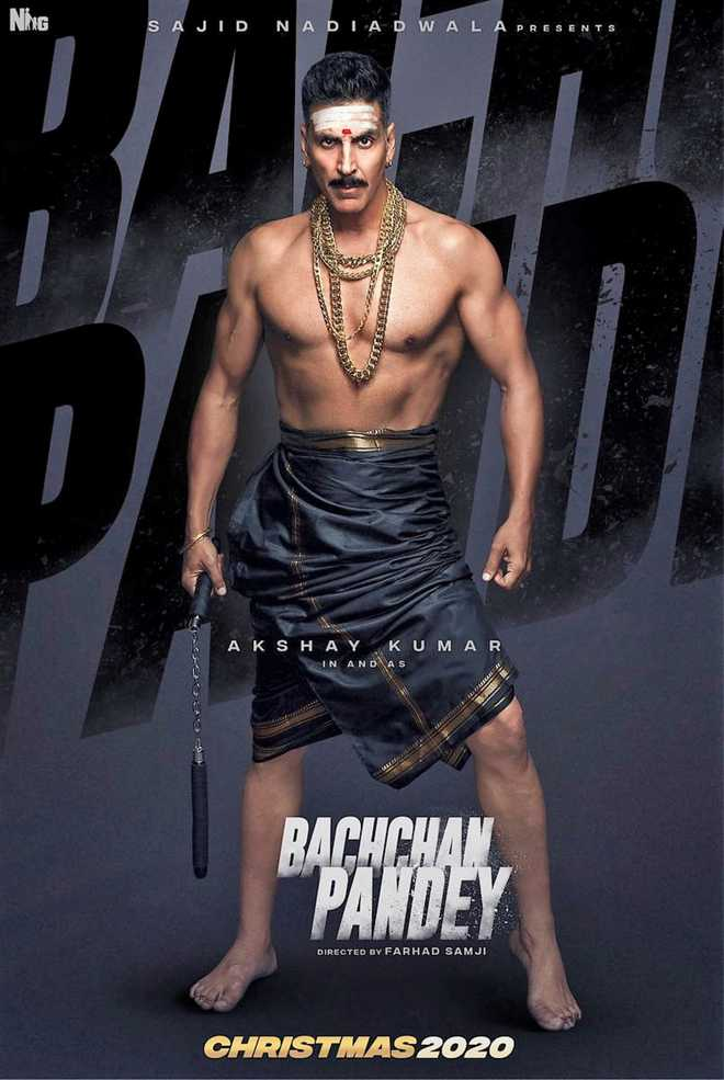 Akshay Kumar in Bachchan Pandey