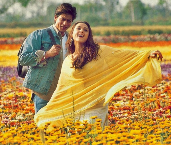 "Shah Rukh Khan and Preity Zinta in ""Veer-Zaara"""