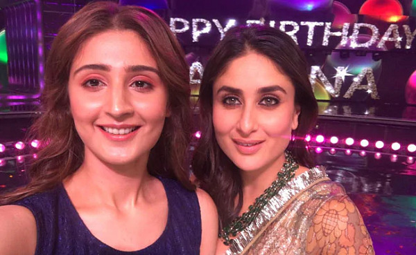 Dhvani Bhanushali with Kareena Kapoor