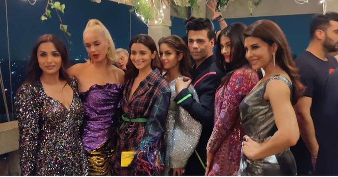 Katy with Bollywood Stars