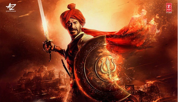 Ajay Devgn's Tanhaji: The Unsung Warrior poster