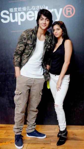 Ahaan Panday with SRK's daughter Suhana Khan