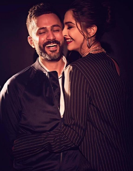 Sonam and Anand Look Adorable Together