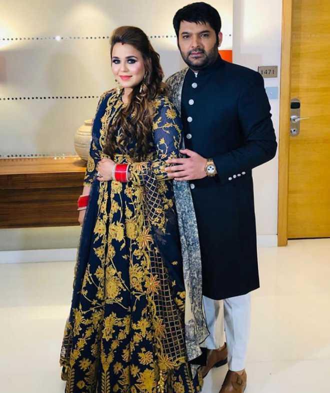 Ginni Chatrath With Husband Kapil Sharma
