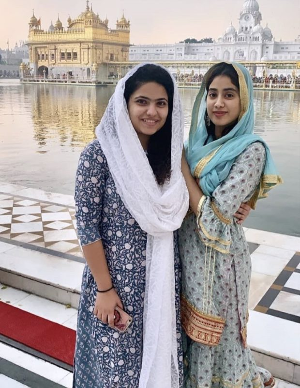 Janhvi Kapoor at Golden Temple