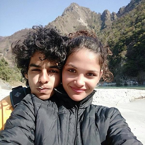 Ishaan Khatter with Ayesha Kapur