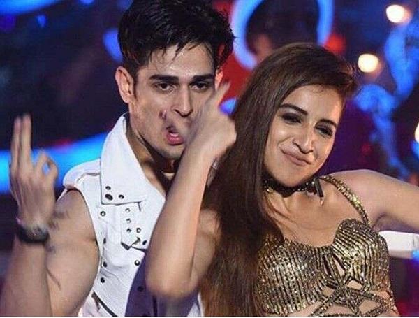 Priyank Sharma with Benafsha Soonawalla