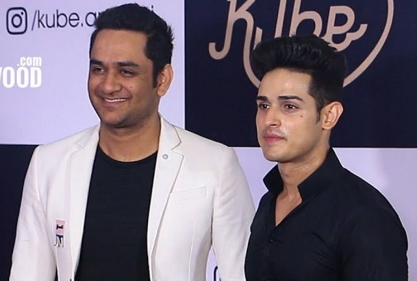 Priyank Sharma with Vikas Gupta