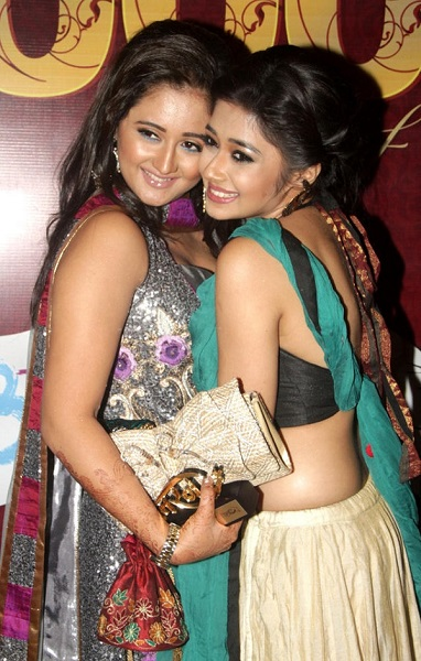 Rashami Desai with Uttaran co-star Tina Datta