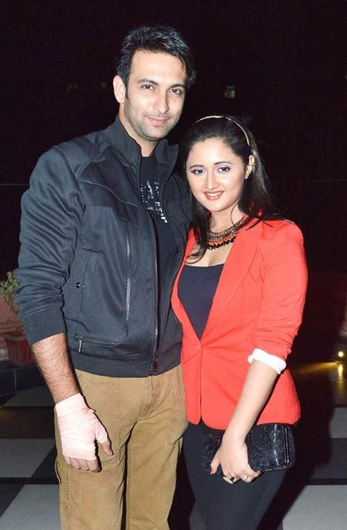 Rashami Desai with former husband Nandish Sandhu