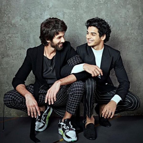 Ishaan Khatter with his half-brother Shahid Kapoor