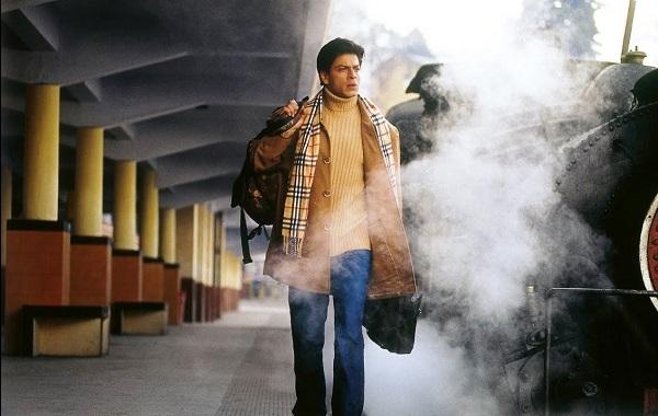 "Shah Rukh Khan in ""Main Hoon Na"""