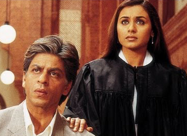 "Shah Rukh Khan and Rani Mukerji in ""Veer-Zaara"""