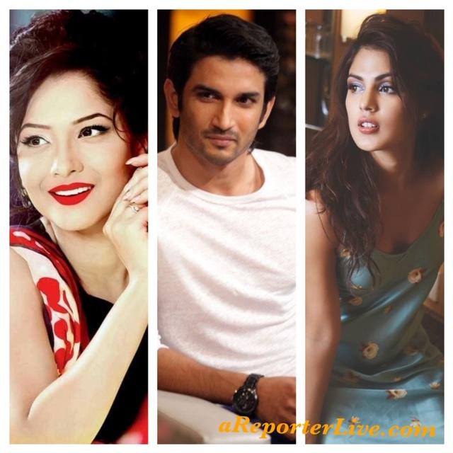 Ankita Lokhande, Sushant Rajput and Rhea Chakraborty