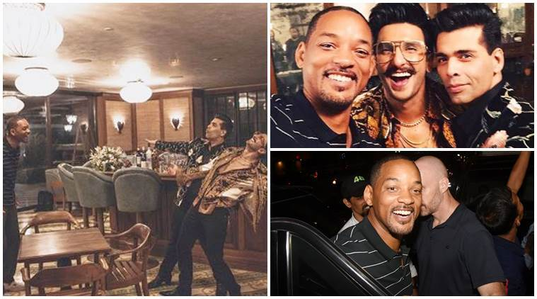 Will Smith, Karan Johar & Ranveer Singh