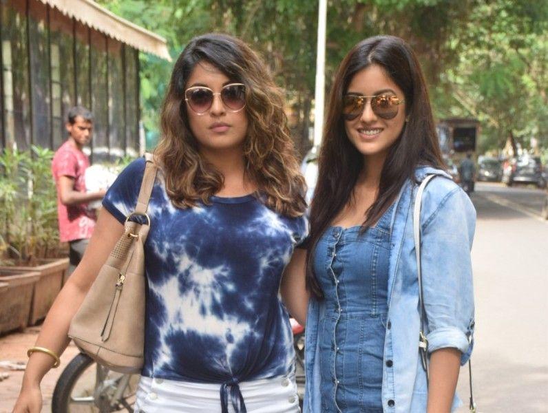 Ishita Dutta with her sister Tanushree Dutta