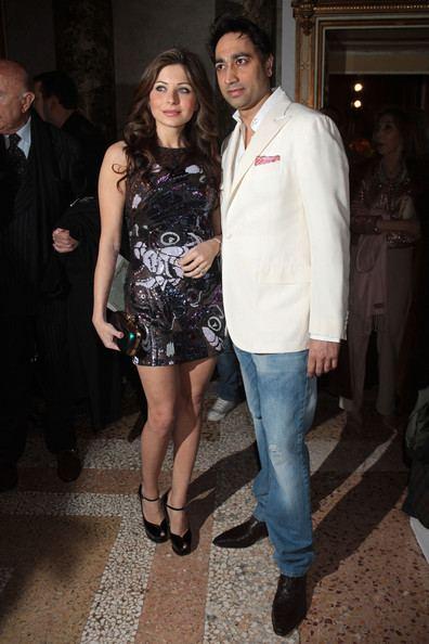 Kanika Kapoor with her ex- husband Raj Chandok