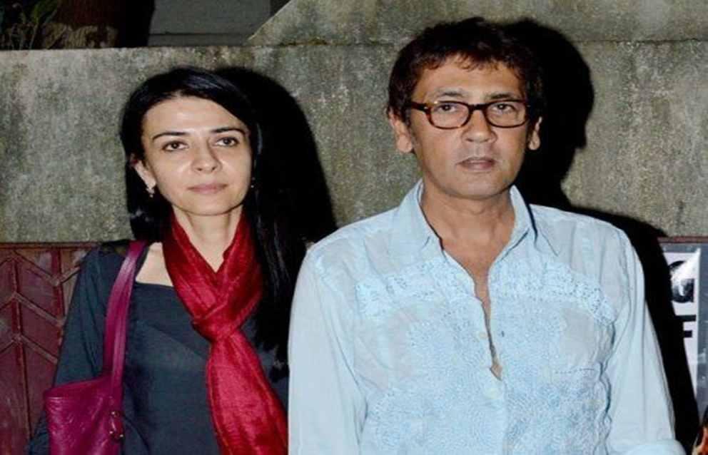 Kumar Gaurav with his wife