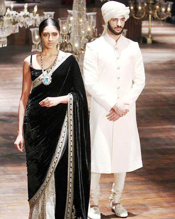 Rohman Shawl has walked the ramp for Sabyasachi Mukherjee