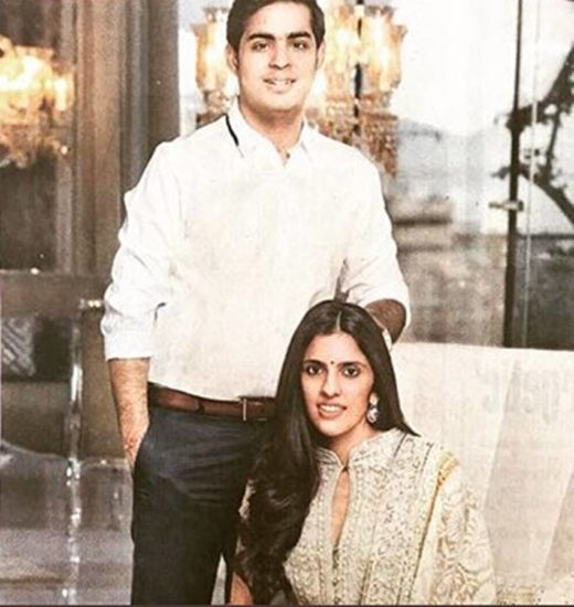 Russell Mehta's daughter Shloka is married to Akash Amani