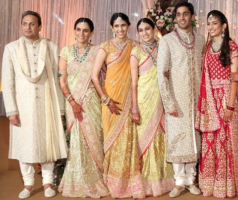 Russell Mehta with his family