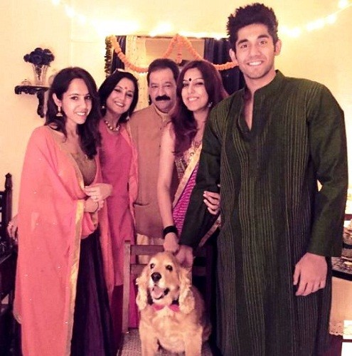 Varun Sood with his family