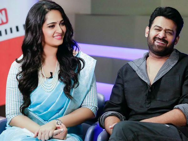 Anushka Shetty with Prabhas