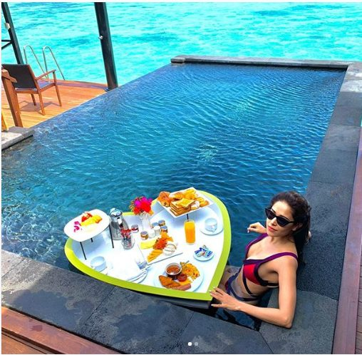 Nushrat Bharucha enjoying her vacations