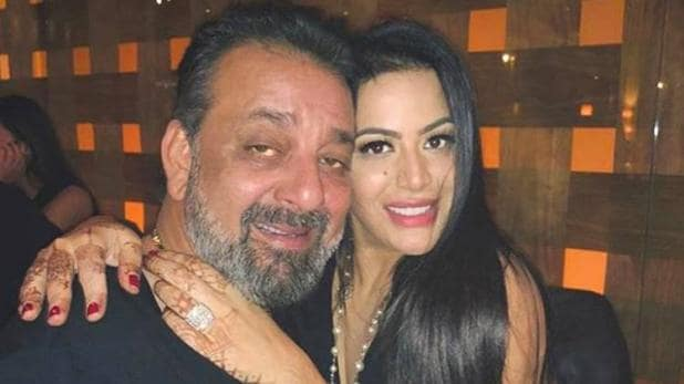 Trishala Dutt with father Sanjay Dutt