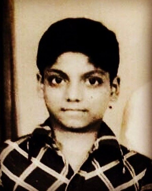 Ganesh Acharya's childhood pic