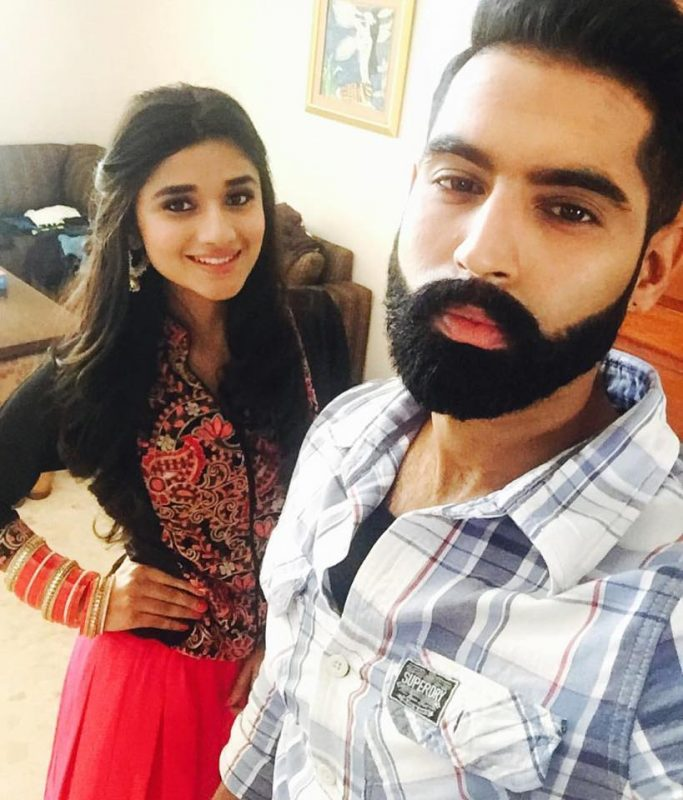 Kanika Mann with Parmish verma