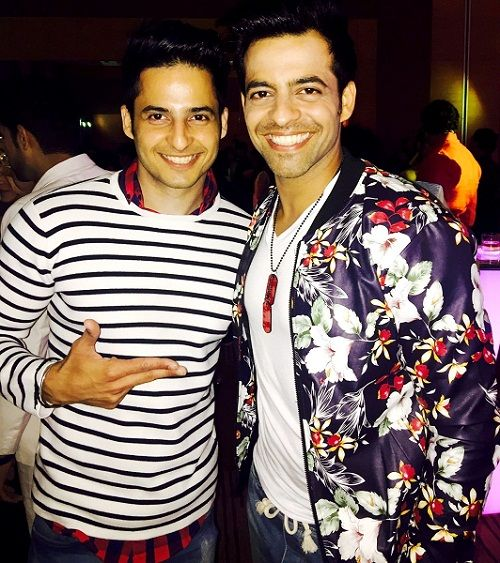 Mohit Malhotra with his brother Himmanshoo Malhotra