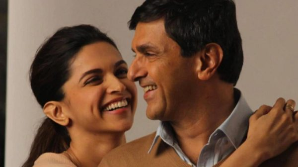 Prakash Padukone with his daughter Deepika Padukone