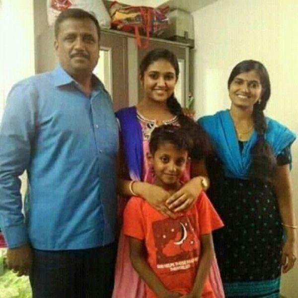 Rinku Rajguru with her family