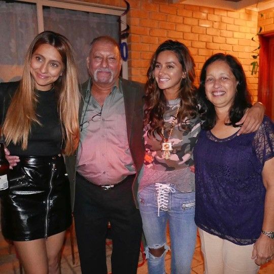 Shibani with her Family