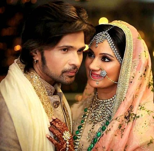Sonia Kapoor with her husband Himesh Reshammiya