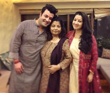Varun Sharma with his family