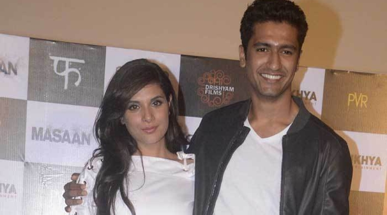 Vicky Kaushal with Richa Chadha