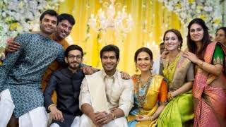 Vishagan Vanangamudi with his family