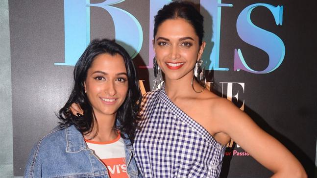 Anisha Padukone with Deepika Padukone