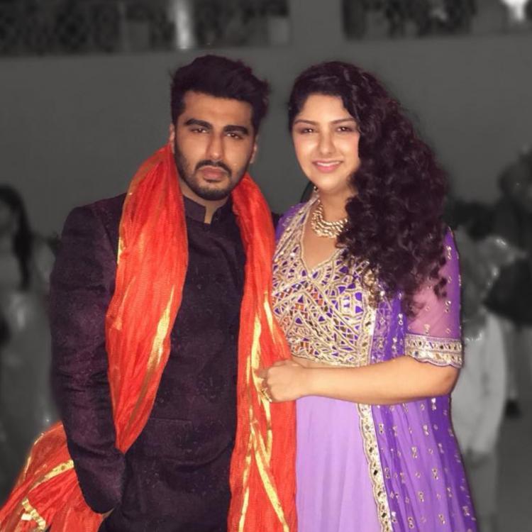 Anshula Kapoor with Arjun Kapoor