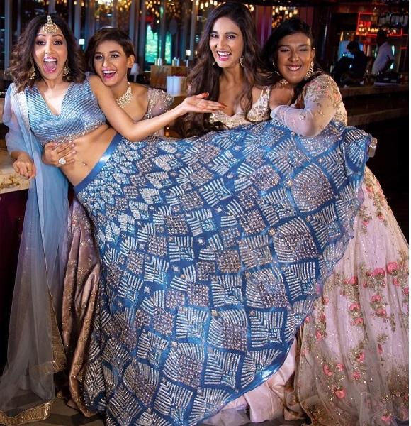 Neeti Mohan with her three sisters - Shakti Mohan, Mukti Mohan and Kriti Mohan