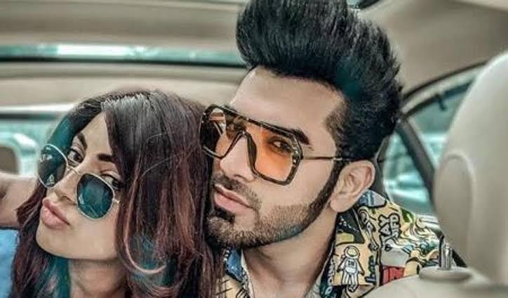Paras with his girlfriend Akanksha Puri