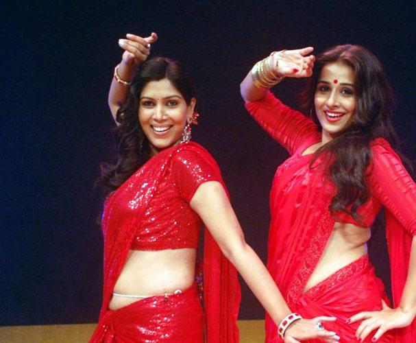 Sakshi with Vidya Balan