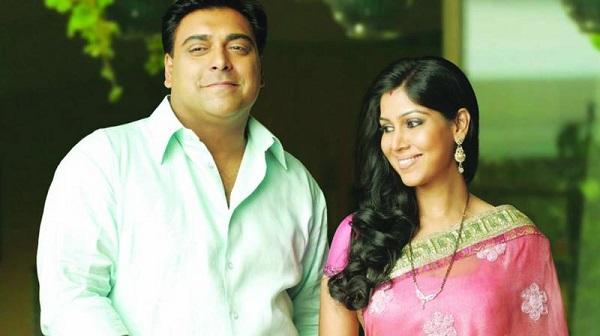 Sakshi with Ram Kapoor