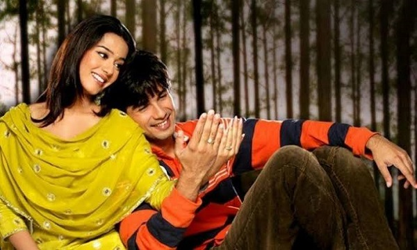 Amrita Rao with Bollywood actor Shahid Kapoor