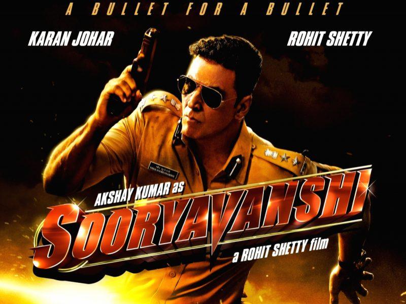 Poster of Akshay Kumar's Sooryavanshi