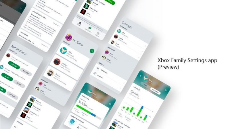 Xbox Family Settings App
